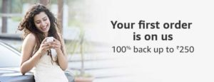 Amazon- Get 100% Cashback on Your first order with Beauty Services