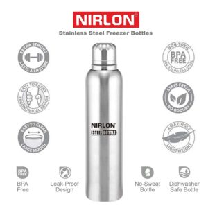 Amazon Loot- Buy Nirlon Stainless Steel Water Bottle