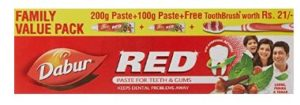 Dabur Red Ayurvedic Paste - Complete Dental Care - 300 gms