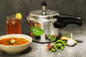 Flipkart- Buy Leo Natura Eco Select+ 3 L Pressure Cooker with Induction Bottom (Aluminium) at Rs 449