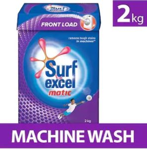 (Must Check) PayTM - Buy Surf Excel Matic Front Load Detergent Powder 2Kg for Rs 288