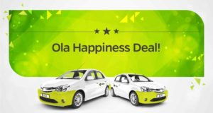 OLA cabs- Get Flat 100% off