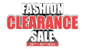 Paytmmall Fashion clearance sale - All best deals and offers at one place