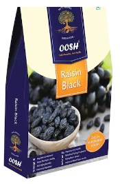 Oosh Seedless Black Raisin 250 Gms