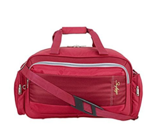 Skybags Cardiff Polyester 55 cms Red Travel Duffle (DFCAR55RED) at rs.848