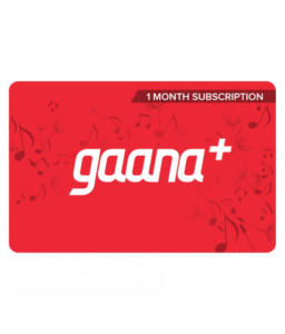 Snapdeal - Buy Gaana Gift Cards at flat 50% off