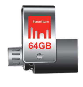 Strontium 64GB Nitro Plus OTG 3.0 USB Drive at rs.799