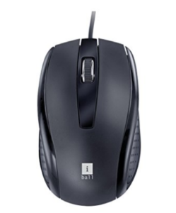iBall Style 63 Optical Mouse (Black) at rs.159