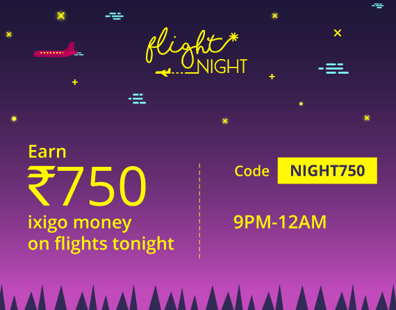 ixigo flight night