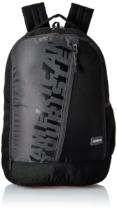 Amazon- Buy American Tourister 28 Ltrs Black Casual Backpack