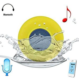 Amazon - Buy DMG Wireless Waterproof Bluetooth Shower Speaker Hands Free Speakerphone Mini Speakers for Rs 499 only