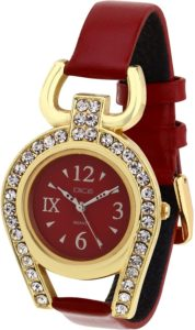 Amazon- Buy Dice Analogue Red Dial Women's Watch-Supg-M019-5251 only at Rs 231