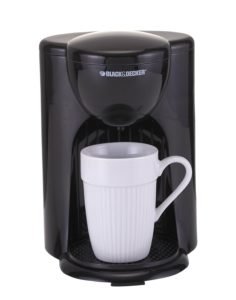 Black & Decker DCM25 1 Cups Coffee Maker (Black)