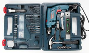 Flipkart - Bosch GSB 10 RE Kit Power &; Hand Tool Kit