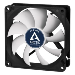 Buy Arctic F9 92mm Fluid Dynamic Bearing Case Fan (Black/White) at Rs.249 only