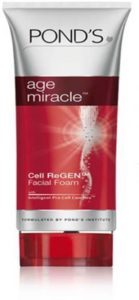 Flipkart- Ponds Age Miracle Cell ReGen Facial Foam Face Wash (100 g) at Rs.210 Only