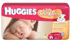 Get Newborn and Small Size Diapers Sample For Free