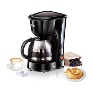 Hyundai CM-HDB6B07-CXF 6-Cup Coffee Maker (Black)