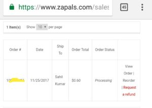 (Must Try) Zapals Loot - Buy Electronic, Daily use products from Rs 20 only Steal deal