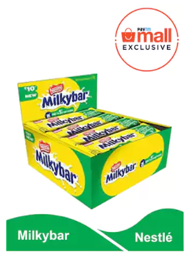NESTLE MILKYBAR 11GM (PACK OF 24) at rs.149