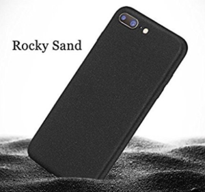 One Plus 5 Rocky Sand Soft Matte Hybrid TPU Back Case Cover at rs.99