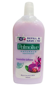 Palmolive Naturals Hand Wash Refill - 500 ml (Black Orchid and Milk) at rs.84