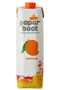 Paper Boat Juice, Aamras, 1L at rs.49