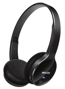 Philips SHB400000 On-Ear Bluetooth Stereo Headset (Black) at rs.1,499