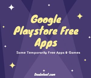 Recharge Offers, Free Apps, Courses and much more at one place (Icon Packs, Games and More) Google PlayStore Free Apps – Get Paid apps absolutely free for a limited time