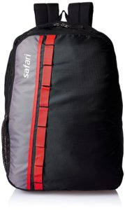 Safari 25 Ltrs Black Casual Backpack (Jump 2 Black)