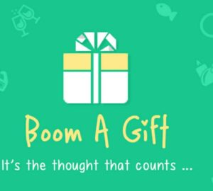 boom a gift app get Rs 40 off on gift vouchers