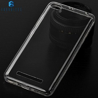 FOUR BITES Redmi 4A 1.2 mm Thin Silicone TPU Transparent Premium Clear Full Protection Exclusive Soft Back Case Cover For Xiaomi Mi Redmi 4A