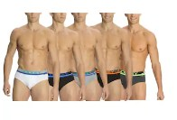 Jockey Pop Assorted Color Brief Set Of 5