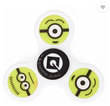Despicable Me Minions fidget spinner (White, Yellow)