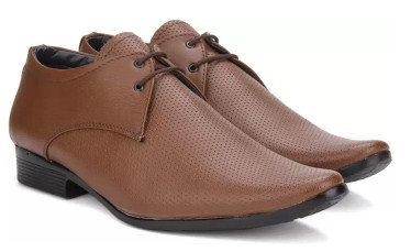 Vulcan Knight Lace Up Shoes (Brown)