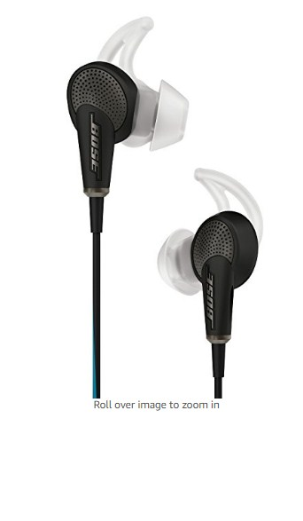 Bose QuietComfort 20 Acoustic Noise Cancelling Headphones (Black)