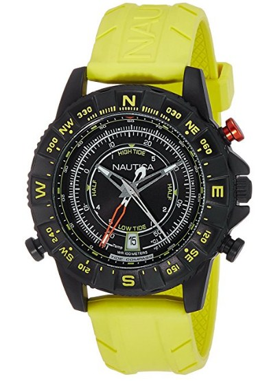Nautica Sports Analog Black Dial Men's Watch