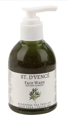 ST. D'VENCÉ Face Wash- (Deep Skin Cleansing, Essential Tea Tree Oil) Face Wash (150 ml)