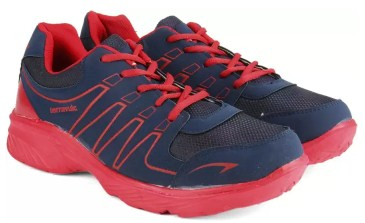 Terravulc Running Shoes (Blue, Red)