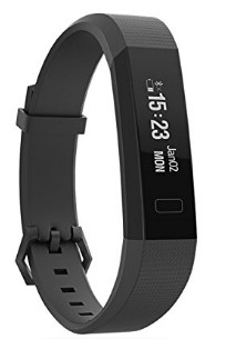 Boltt Beat HR Fitness Tracker with 1 Months Personalized Health Coaching (Black)