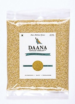 Daana Single Origin Organic Moong Dal, 1kg
