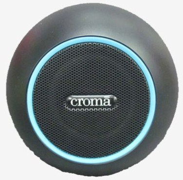 Croma XH2118 1.5W RMS Round PC Speakers (Black)