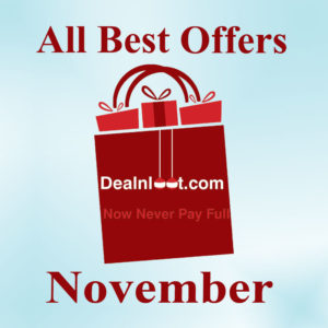 Special Post All Best Offers of the Month that Expire on 30th November