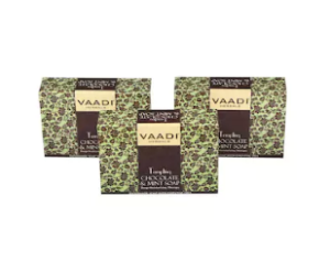 Vaadi Herbals Value Pack of 3 TEMPTING CHOCOLATE & MINT at rs.78