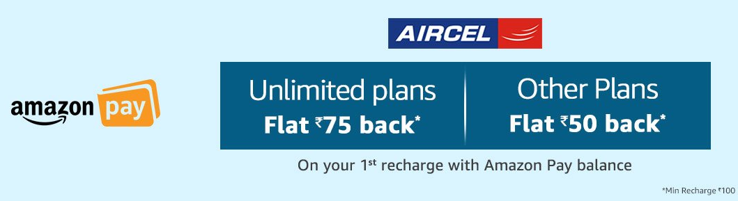 aircel amazon pay
