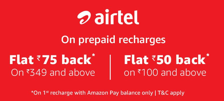 amazon pay airtel