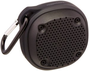 Buy AmazonBasics Shockproof and Waterproof Bluetooth Wireless Mini Speaker for Rs.1,162 only