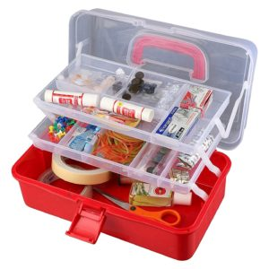 Buy Miamour Plastic Tool Box - Color May Vary for Rs.320 only