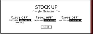 Ajio- Get upto 50% Off on Branded fashion Category1