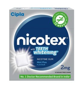 Amazon- Buy Cipla Nicotex Nicotine Teeth Whitening Gum